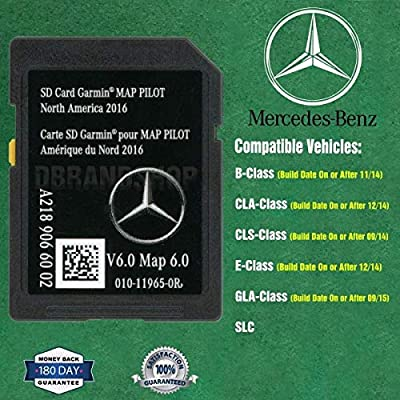 Navigation SD Card Garmin Map Pilot 2020 North America Mercedes-Benz A2189066002 : Car Electronics