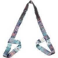 Yoga Mat Strap, Yoga Mat Draagband Sling, Gedrukte Oefening Fitness Sport Stretch Yoga Mat Schouderriem, Verstelbare…