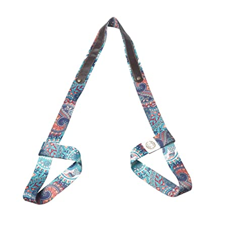 Lumpur Yoga Mat Strap Sling Gym Carry Impreso Cinturón ...