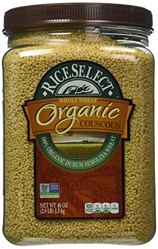 Rice Select All Natural Whole Wheat Organic Couscous (46 ounce)