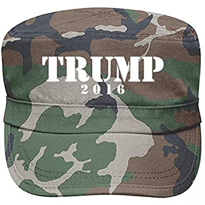 Trump For President Military: Alternative Apparel Fidel Hat