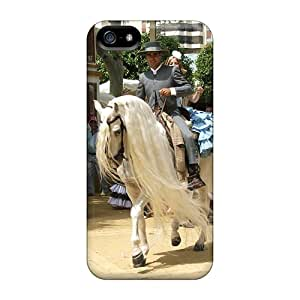 Premium Dqdab10744HspAA Case With Scratch-resistant/ The Longest Mane Case Cover For Iphone 5/5s