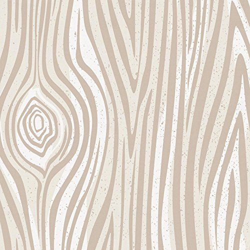 Carousel Designs Taupe Large Woodgrain Toddler Bed Comforter by Carousel Designs (Image #2)