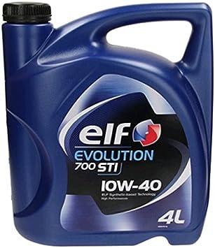 Elf Evolution 700 Sti 10w 40 Motoröl 4 Liter Auto