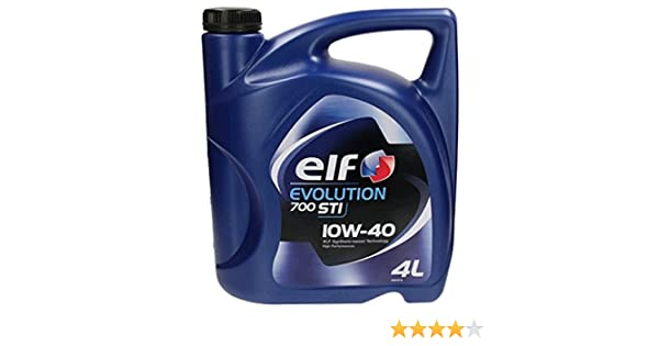 Elf - Aceite de motor de coche, TI 10W40 4 litros: Amazon.es: Coche y moto