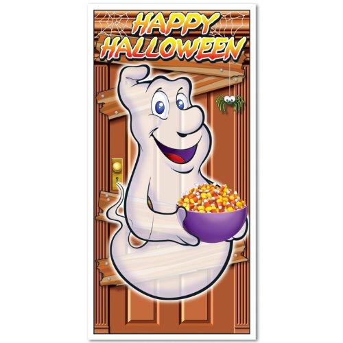 Happy Halloween Door Cover Party Accessory (1 count) (1/Pkg) -
