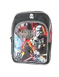 Backpack children bag 'Star Wars'black multicoloured - 42x34x14 cm (16.54''x13.39''x5.51'').