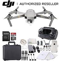 DJI Mavic Pro Platinum Collapsible Quadcopter Black Aluminum Hardshell Case Starters Bundle
