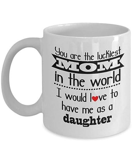 Amazon.com: Tazas de café de cerámica blanca con texto en ...