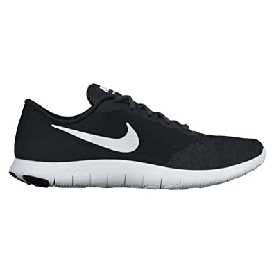 more photos 0dcf2 db747 Amazon.com   Nike New Women s Flex Contact Running Shoe Black White 6    Road Running