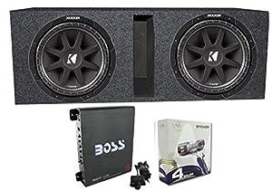 "Amazon.com: 2) Kicker 43C104 10"" 600 Watt Car Subwoofers"