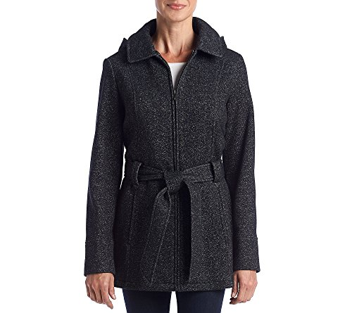 jones new york black coat - 6