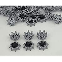 MamimamiH New 18pcs Golf Shoe Spikes Softspikes Golf Shoe Spikes Fast Twist Tri-Lok Spikes Cleats fit Footjoy