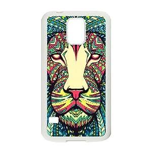 JJZU(R) Design New Fashion Phone Case with Lion for SamSung Galaxy S5 I9600 - JJZU896808