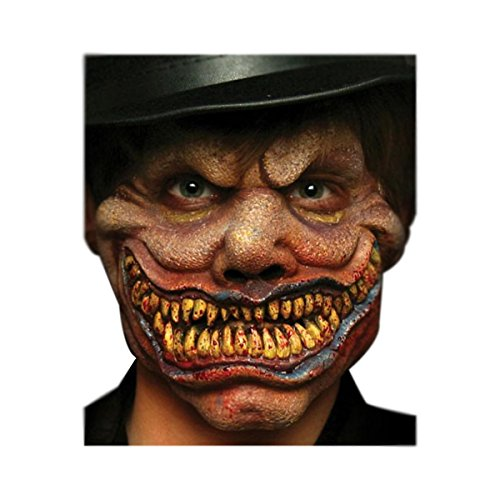 Woochie by Cinema Secrets Men's Hyde Clown Foam Prosthetic, Kit - Hyde Halloween Costume