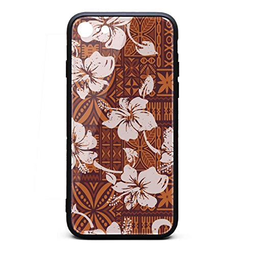 (Vintage Hawaiian Hibiscus Flowers i-Phone 6/6s Case Protective Case Anti-Slip for i-Phone 6/6S)