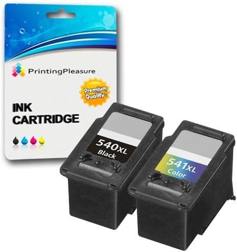2 XL Compatibles PG-540XL CL-541XL Cartuchos de Tinta para Canon ...