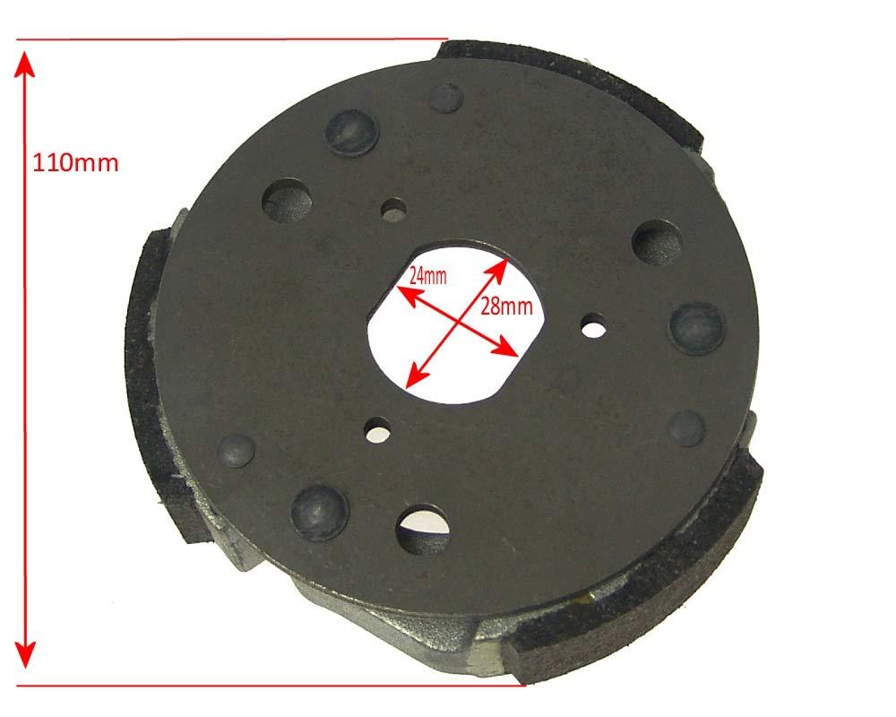 2EXTREME STANDARD Morini Kupplung 107mm f/ür APRILIA Di-Tech SR50 Habana Mojito 50