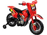Children's Red Dirt Bike - 6v