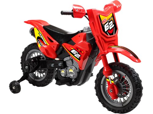 Childrens-Red-Dirt-Bike-6v
