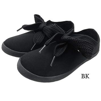e4358001e9285 Amazon.co.jp: ZIP-81521-28(M, BK)/ZIP【Ribbon Sneaker】 リボン ...