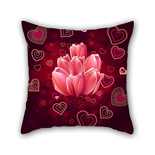 Glo Bug Bead (PILLO Love Cushion Covers 20 X 20 Inches / 50 By 50 Cm Best Choice For Bedroom,pub,car Seat,bedroom,drawing Room,her With Twice)