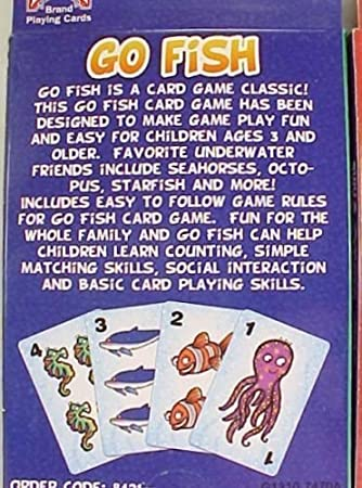 Amazon Com Bicycle 2 Pack Kids Card Games Go Fish And Old Maid