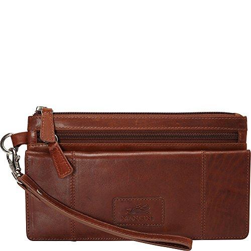 mancini-leather-goods-ladies-rfid-wristlet-cognac