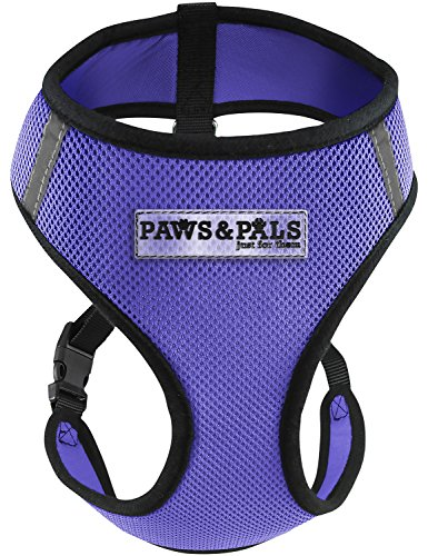 Control Comfort Pet Harness (Paws & Pals Pet Control Harness for Dog & Cat Easy Soft Walking Collar, Medium)
