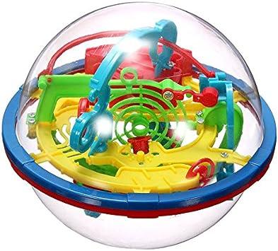 Tenflyer Órbita 3D Magic Maze Bola Cerrada Nivel intelecto Bola de Juguete Inteligencia Juguete para Niños: Amazon.es: Juguetes y juegos