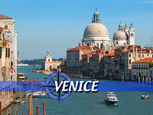 Venice - Canal On Shops