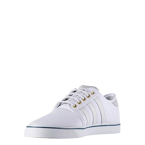 Zapatillas adidas - Seeley blanco/blanco talla: 37-1/3: Amazon.es: Zapatos y complementos