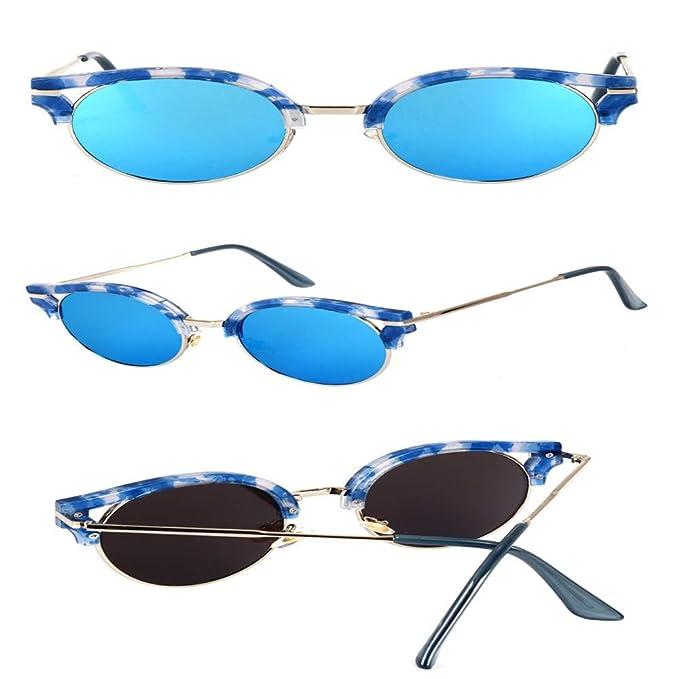 SenDi Gafas de sol-Gafas de sol retro tendencia película ...