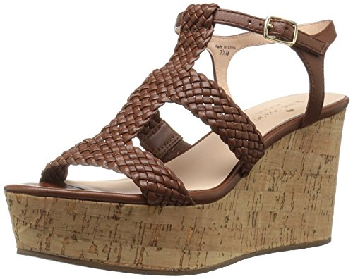 Kate Spade New York Women's Tianna Wedge Sandal,Luggage,10 M US by Kate Spade New York