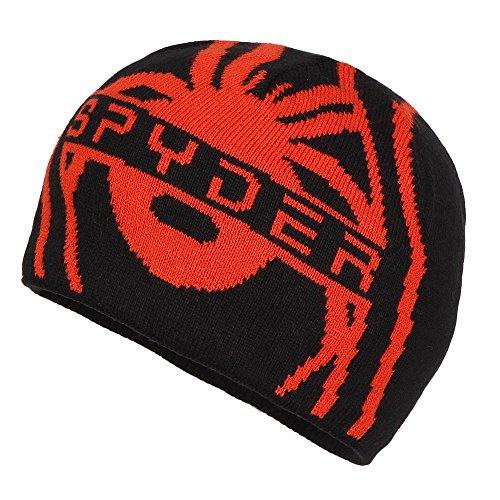 (Spyder Boys Lucerne Hat, One Size, Black/Rage)