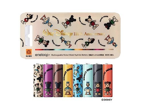 SANYO eneloop eneloop Disney character 110th anniversary limited edition AA eight HR-3UTGB8D2 by book