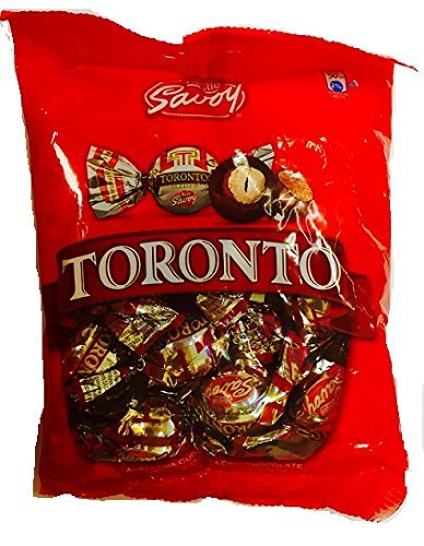 Nestle Savoy Toronto Avellana Cubierta con Chocolate (Chocolate Covered Hazelnut) 125g containing 14 pieces