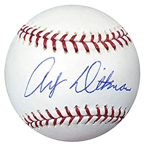 Art Ditmar Autographed Signed Official MLB Baseball Yankees #AB50739 PSA/DNA Certified Autographed MLB Art