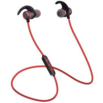 Auricular Bluetooth, Abafia Auriculares Deporte In-Ear Bluetooth 4.2, CVC 6.0 con Magnética