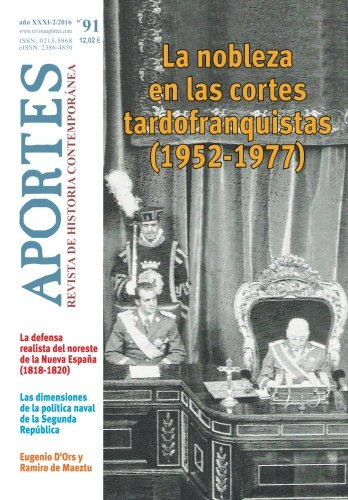 Aportes. Revista De Historia Contemporánea 91, Xxxi