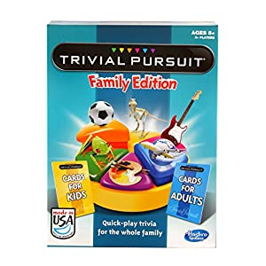 Trivial Pursuit Family Edition Game from Hasbro Games