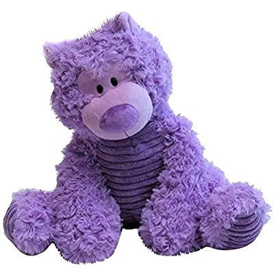 "14"" Large Lavender Stuffed Teddy Bear: Toys & Games"