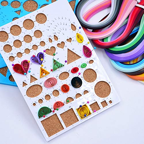 KonanAI15 Craft Paper 900pcs Colorful Quilling Paper Craft DIY Decoration Supplies Handmade Scrapbooking