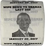 OBAMAS LAST DAY-JANUARY 20, 2017 -FUNNY TOILET PAPER-MADE IN THE USA!! Jumbo Roll!!