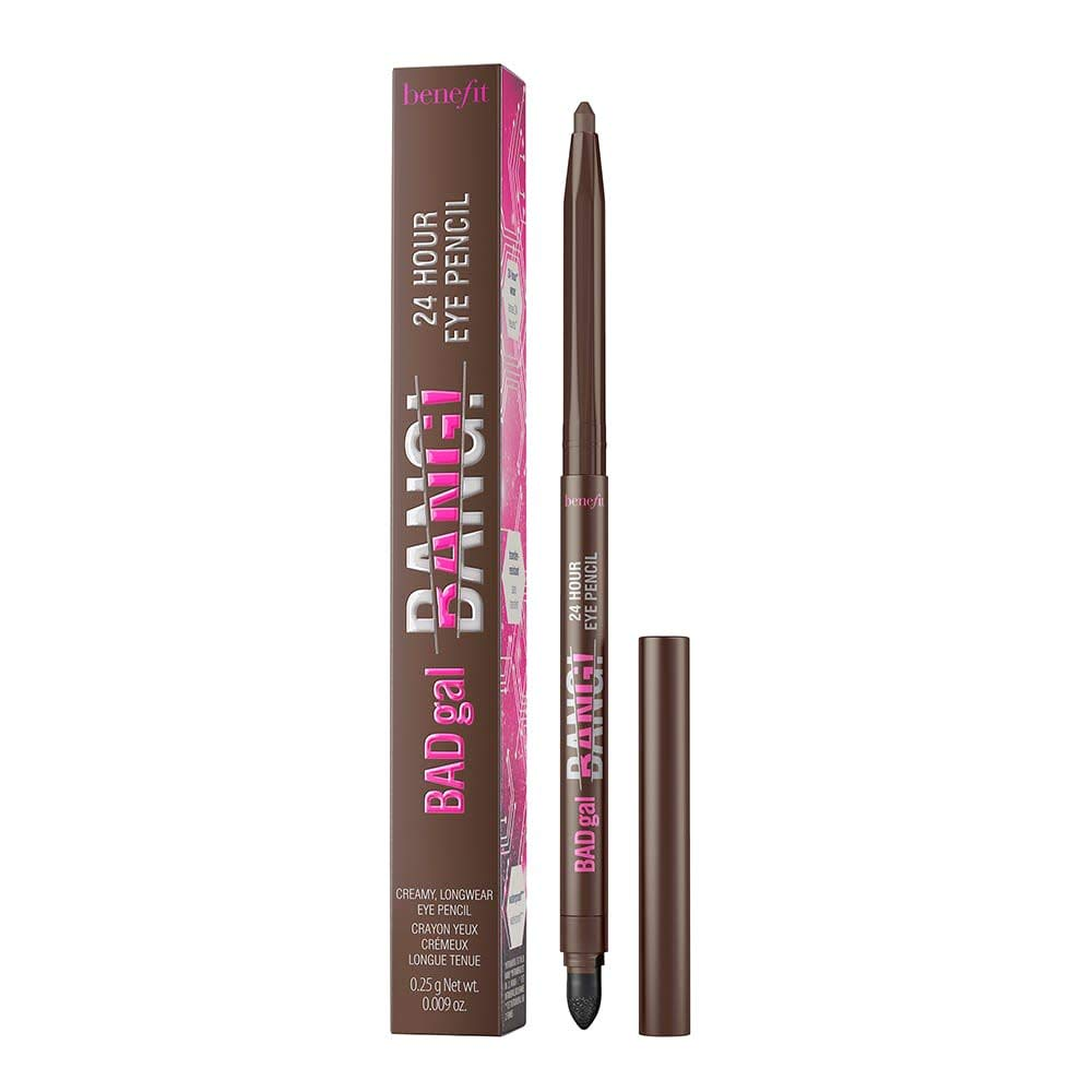 Benefit Cosmetics BADgal BANG! 24 Hour Eye Pencil - Deep Brown 0.009 oz (Pack of 1)