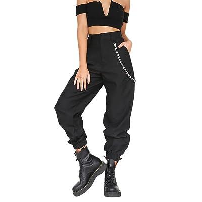 Hmlai Hot Sale Women's Casual Loose Harem Baggy Hip Hop Dance Jogging Sweat Pants Slacks Trousers