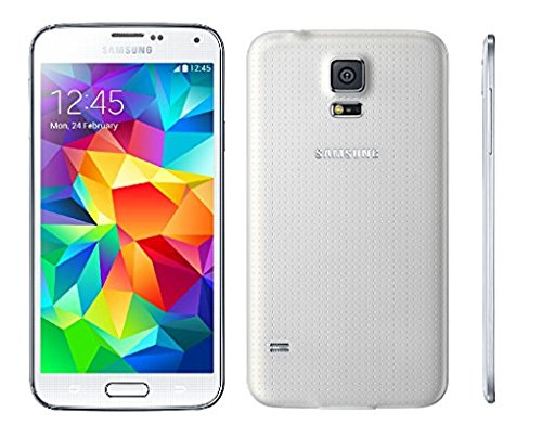 Samsung Galaxy S5 G900A 16GB Unlocked GSM 4G LTE Quad-Core Smartphone 16MP Camera (Certified Refurbished) (White)