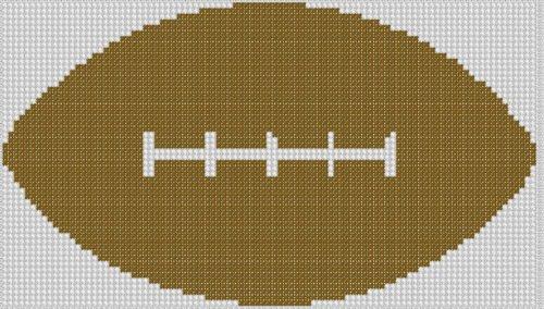 Football Cross Stitch Pattern - Stitch Ball Cross