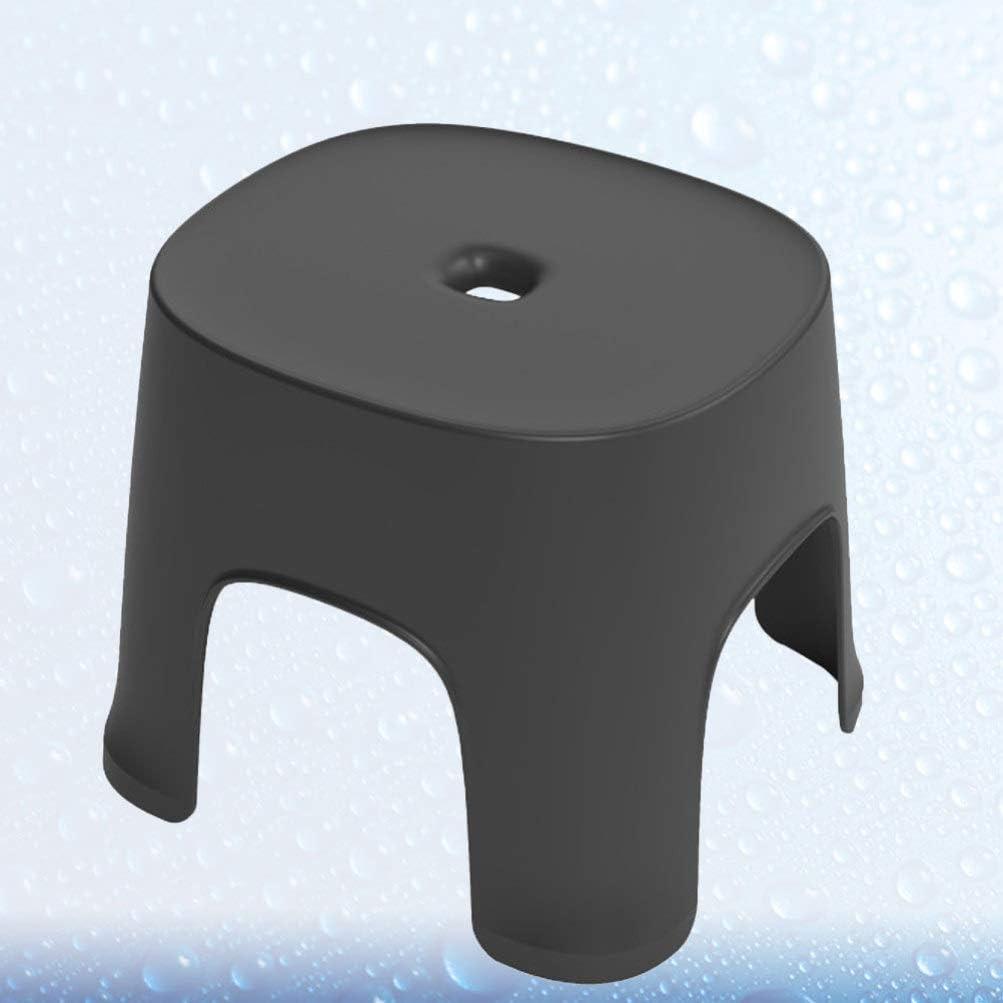 NONE Taburete de Pl/ástico Antideslizante Taburete Grueso con Sillones Antideslizantes para El Hogar La Oficina