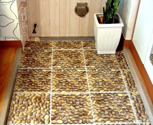 Jiniy Pebble Floor D Cor Sticker Flooring Diy Vinyl Floor